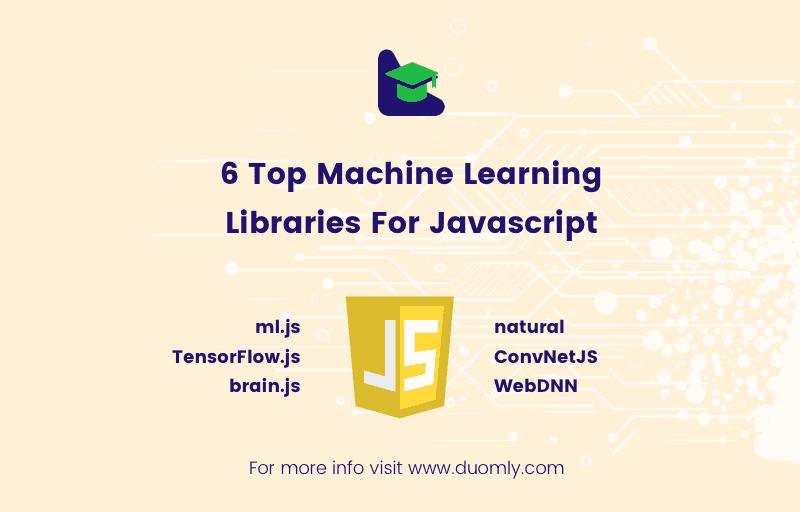 duomly the best machine_learning libraries for javascript