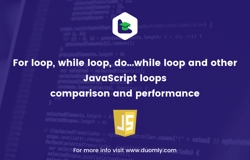 For loop, while loop, do…while loop and other JavaScript loops – comparison and performance
