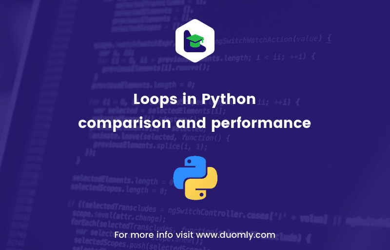 python loops comparison duomly