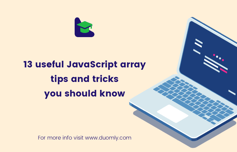 javascript array tips and tricks by duomly.com