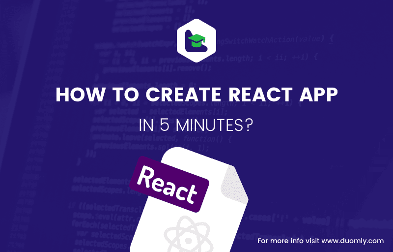 How to create React app in 5 minutes?